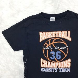 Gymboree Shirts & Tops - {Gymboree} Boys Basketball Graphic Tee